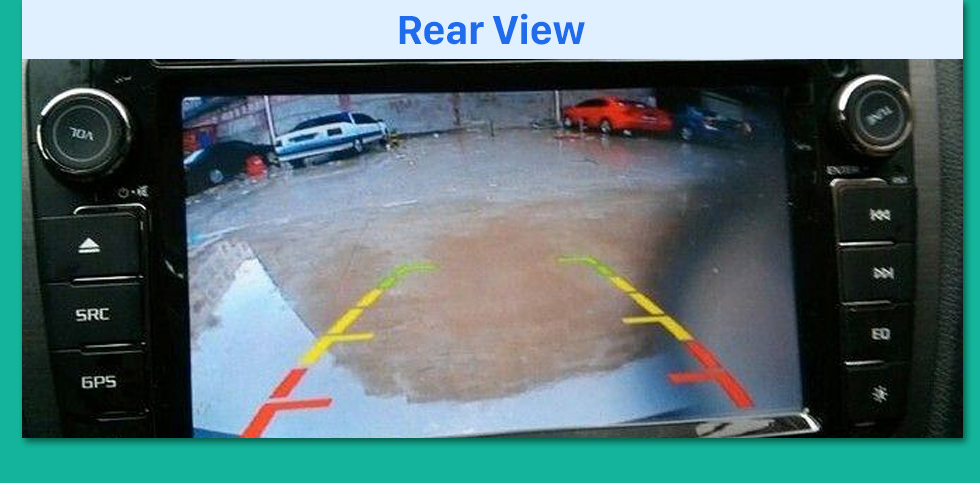 Rear View HD Wired Car Parking Backup Reversing Camera for KIA K5 Waterproof four-color ruler and LR logo Night Vision free shipping