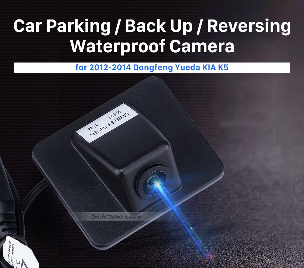 Seicane HD SONY CCD 600 TV Lines Wired Car Parking Backup Reversing Camera for KIA K5 version Waterproof Night Vision free shipping