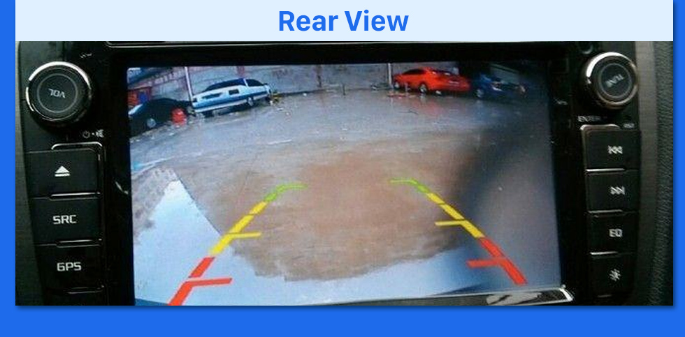 Rear View HD SONY CCD 600 TV Lines Wired Car Parking Backup Reversing Camera for KIA K5 version Waterproof Night Vision free shipping