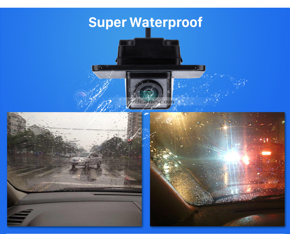 Super Waterproof HD SONY CCD 600 TV Lines Wired Car Parking Backup Reversing Camera for KIA K5 version Waterproof Night Vision free shipping