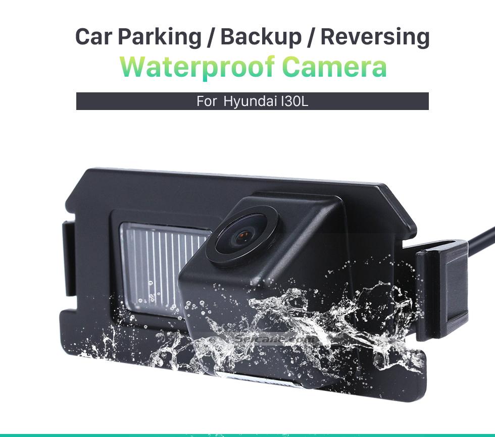 Seicane 170° HD wasserdicht blau Herrscher Nachtsicht Auto Rückfahr kamera für 2009-2013 KIA Soul RIO Versand kostenfrei