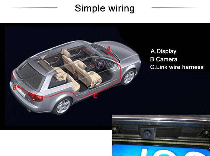 Digital TV HD проводной Автомобильный парковка резервного камеры для BMW X1 X5 X6 2008-2012 BMW 3 2008-2010 BMW 5 водонепроницаемый четыре цвета линейка а LR logo Ночное видение бесплатная доставка