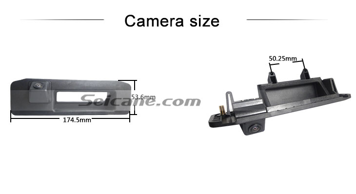 Steering wheel controls Hot selling 2013 NEW Mercedes-Benz GLK Car Rear View Camera with four-color ruler and LR logo Night Vision free shipping