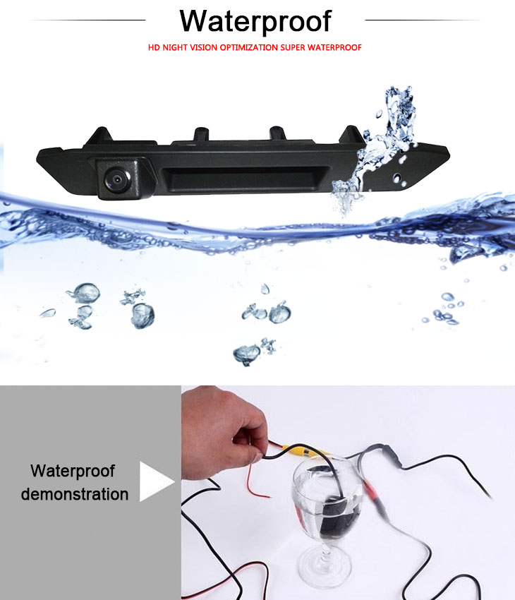 DVD Player HD SONY CCD 600 TV Lines Wired Waterproof Car Parking Backup Reversing Camera for 2013 NEW Mercedes-Benz ML  2013 A180 Night Vision free shipping