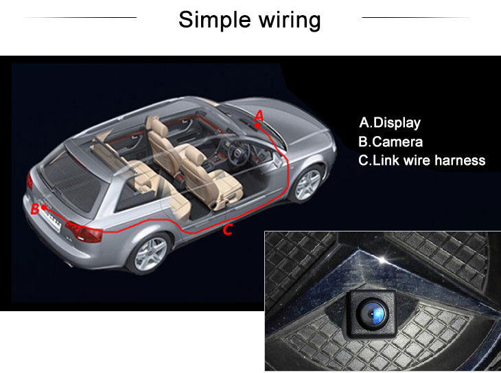 Digital TV Buy cheap HD Car Rearview Camera for 2012-2013 NEW Mercedes-Benz B free shipping