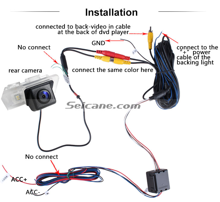 AUX Buy cheap HD Car Rearview Camera for 2012-2013 NEW Mercedes-Benz B free shipping