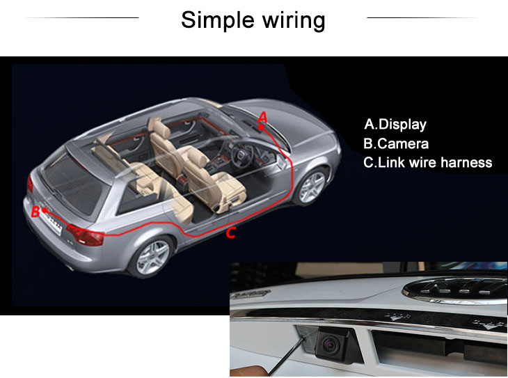 Digital TV 2008-2013 KIA sportage 2008 Sorento  Auto Rückfahr kamera mit blau Herrscher Nachtsicht Versand kostenfrei