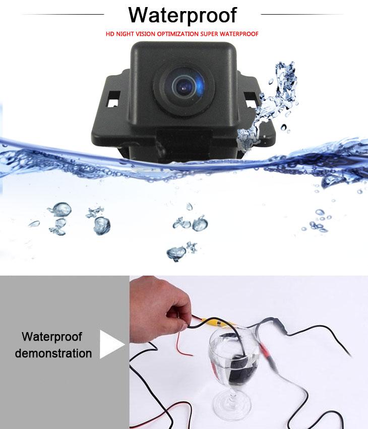 DVD Player HD Wired Carro estacionamento Backup Câmera para Mitsubishi Outlander à prova d'água azul régua Visão noturna Frete grátis