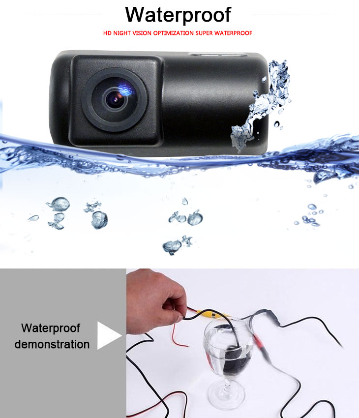 DVD Player Ford Transit RV Car Rear View Camera with Blue Ruler Night Vision free shipping