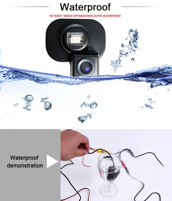 DVD Player HD Wired Car Parking Backup Reversing Camera for Hyundai VERNA three boxes Waterproof Blue Ruler Night Vision free shipping
