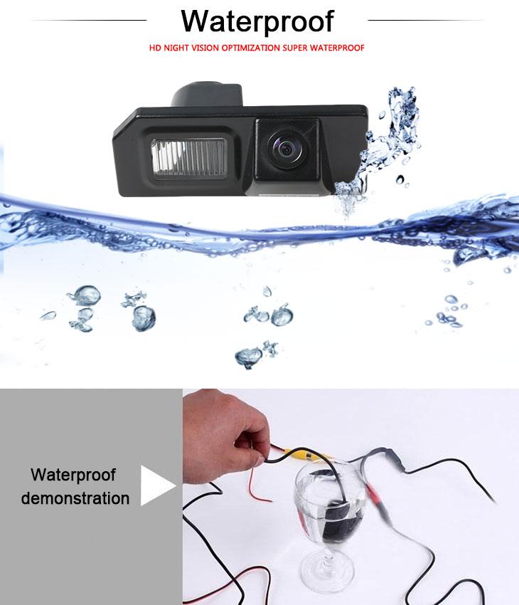 DVD Player HD cable coche Estacionamiento cámara de reserva para Mitsubishi ASX a prueba de agua azul regla Vision nocturna envío gratis