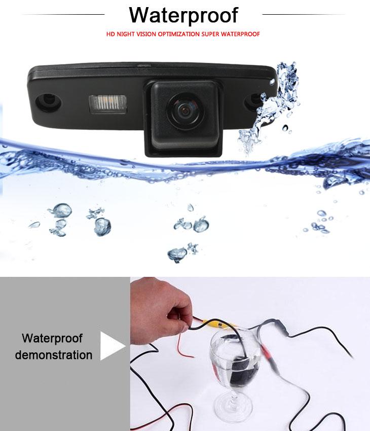 DVD Player HD filaire voiture caméra de recul pour 2011-2013 KIA sportage r Imperméable Bleu règle Vision nocturne livraison gratuite