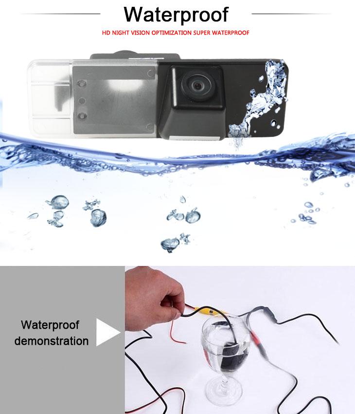 DVD Player 170° HD Waterproof Blue Ruler Night Vision Car Rear View Camera for KIA K5 OPTIMA free shipping