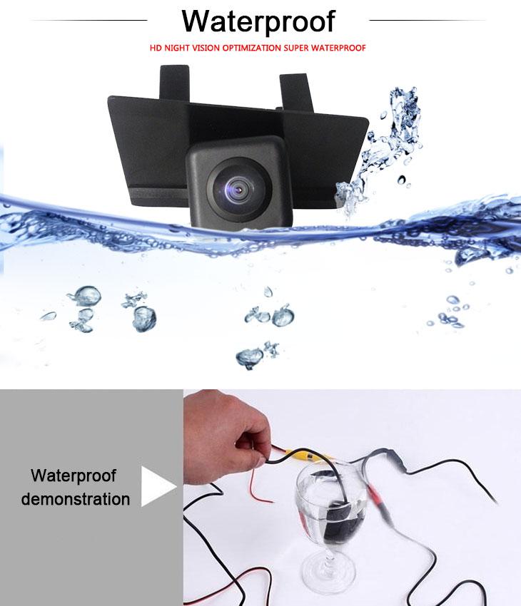 DVD Player HD Wired Car Parking Backup Reversing Camera for SUZUKI Kizashi  Waterproof Blue Ruler Night Vision free shipping