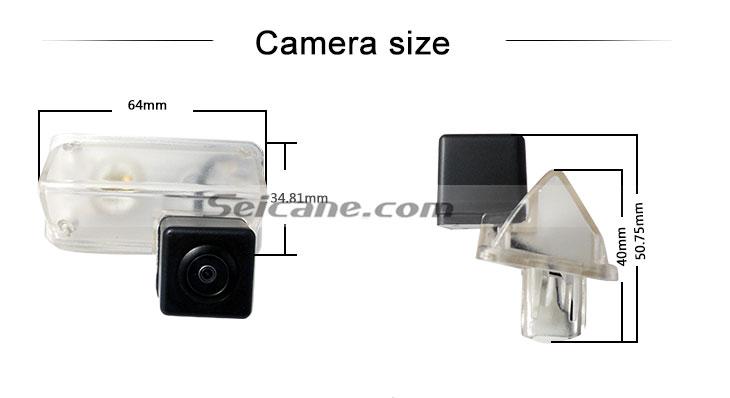 Steering wheel controls 170° HD водонепроницаемый синий линейка Ночное видение Автомобильный заднего вида камеры для 2014 Toyota COROLLA бесплатная доставка