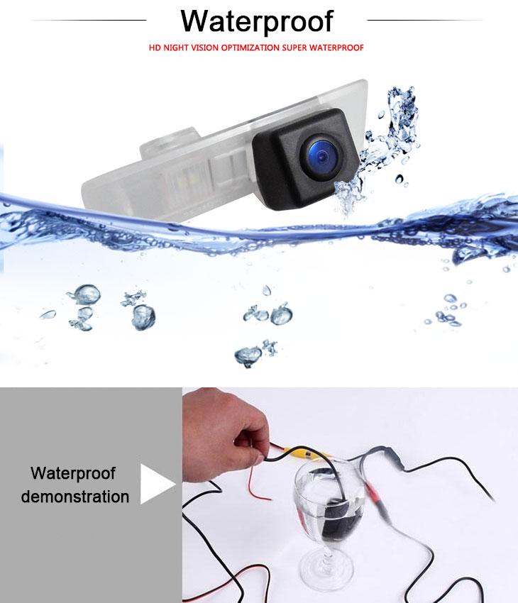 DVD Player 170° HD водонепроницаемый синий линейка Ночное видение Автомобильный заднего вида камеры для 2012-2013 Lexus ES-250 бесплатная доставка