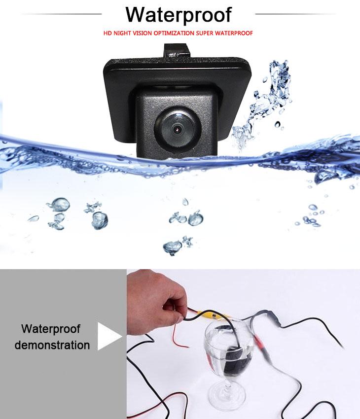 DVD Player 170° HD Imperméable Bleu règle Vision nocturne voiture arrière Caméra pour 2011-2013 NEW Hyundai elantra livraison gratuite