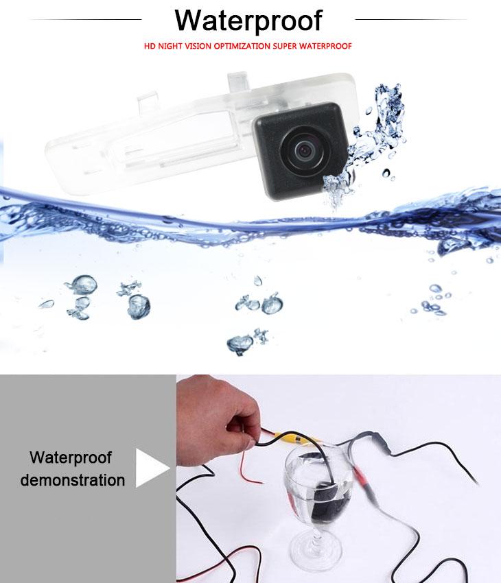 DVD Player HD Wired Car Parking Backup Reversing Camera for 2013 NEW Honda SPIRIOR Waterproof Blue Ruler Night Vision free shipping