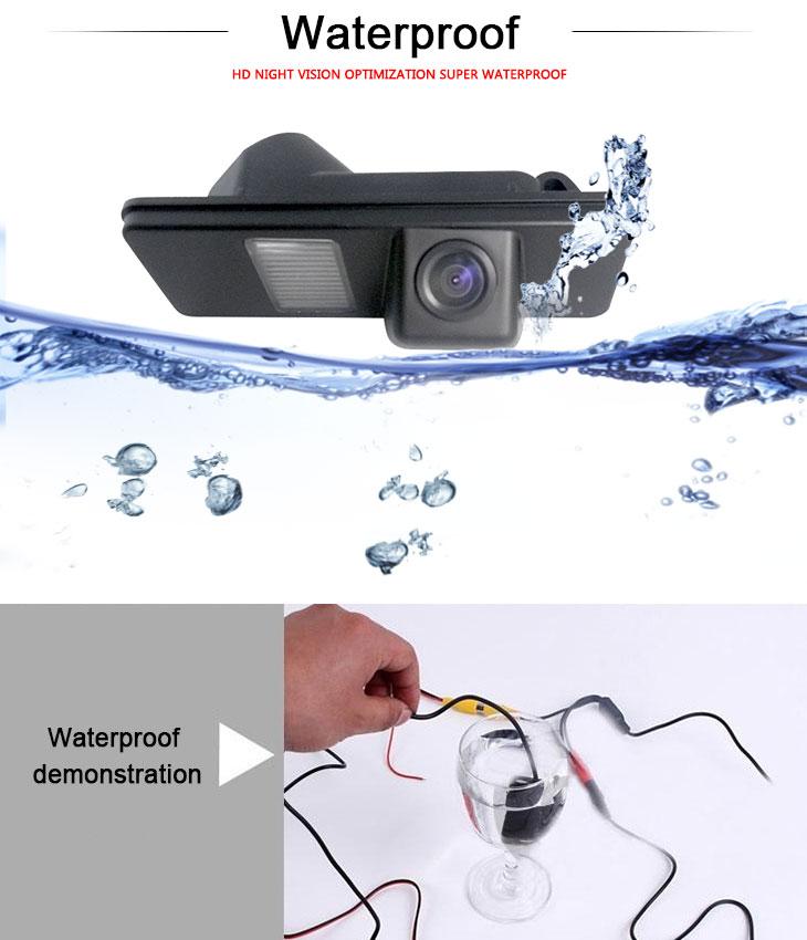 DVD Player 170° HD Waterproof Blue Ruler Night Vision Car Rear View Camera for Subaru TRIBECA free shipping