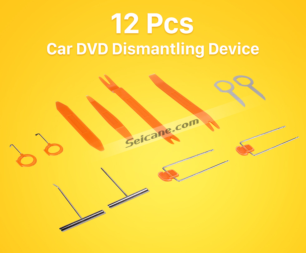 12Pcs Car DVD Dismantling Device Dispositivo desmantelamento do dvd do carro