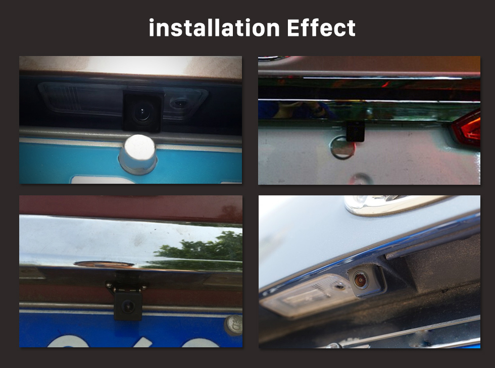 Seicane 180 Degree Graden Fisheye Waterproof HD High Definition Reverse Sensor Backup Rearview Camera Parking