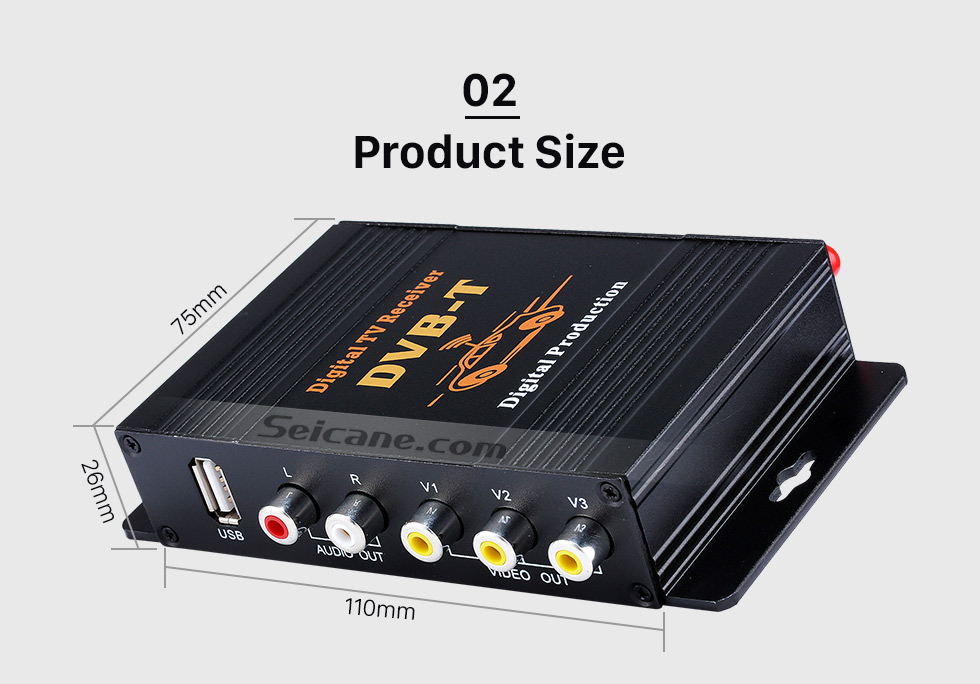 Seicane Digital TV Tuner DVB-T For Seicane car dvd player