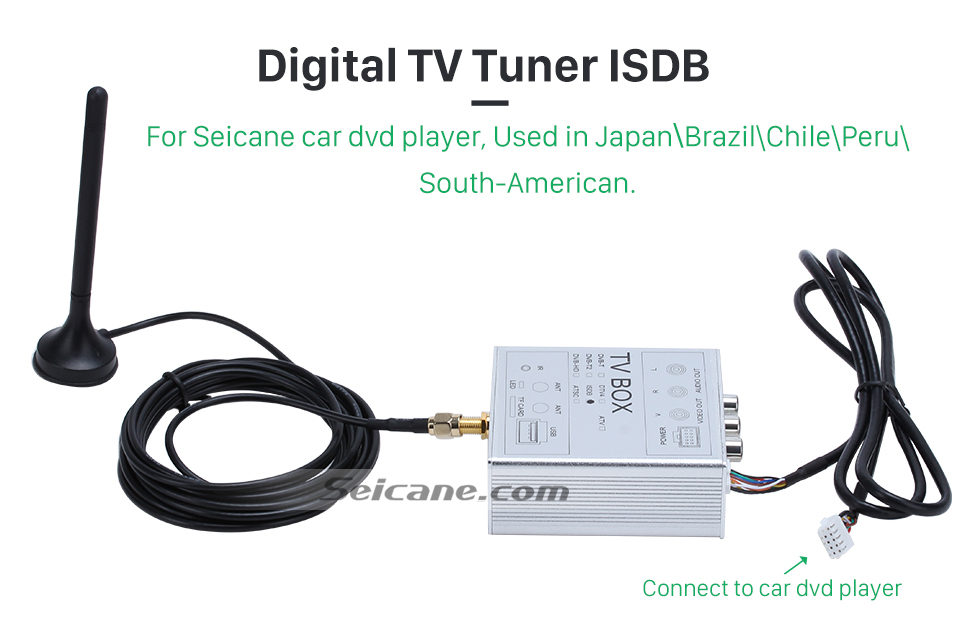 Digital TV Tuner ISDB Digital TV Tuner ISDB-T For Seicane car dvd player