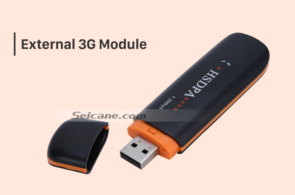 External3G Module Seicane Modem External 3G  Module for Car DVD Player with Internet
