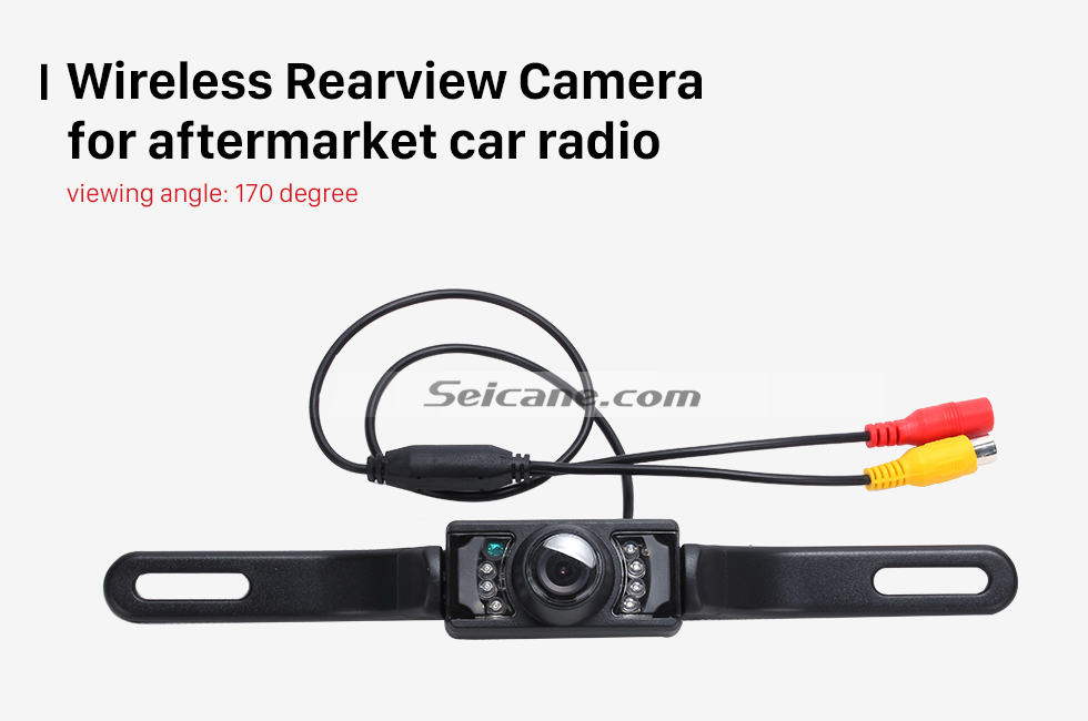 Seicane Seicane Wireless Rearview Camera for aftermarket car radio
