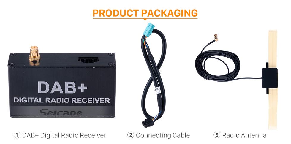 Seicane Cheap Mini Portable High Quality Sound Digital Radio Receiver DAB+ Radio Tuner