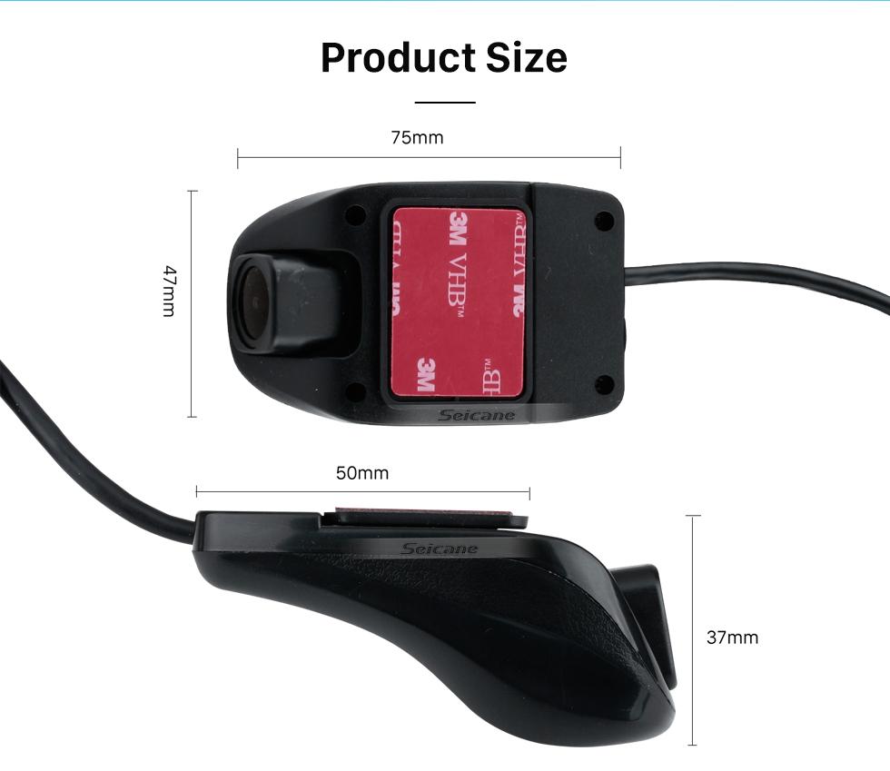 Seicane Interface USB spécial haute qualité Universal Android externe voiture plein écran tactile Lecteur DVD