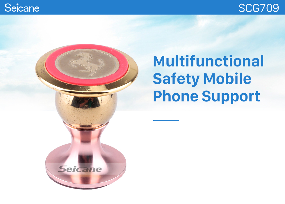Seicane 360 Degree Universal Car Phone Holder Multifunctional Safety Mobile Phone Support For Mobile Phone