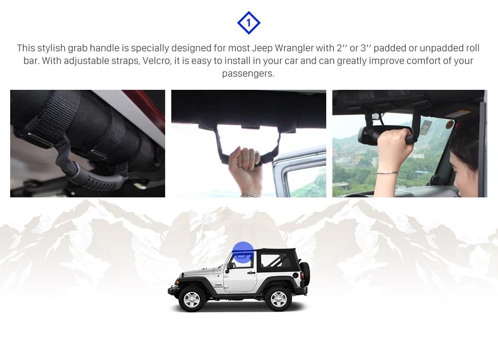 Seicane 7-дюймовый автомобильный передний светодиодный фонарь Halo Refit Daylight Round Lamps для 1996-2017 Jeep Wrangler 2PCs