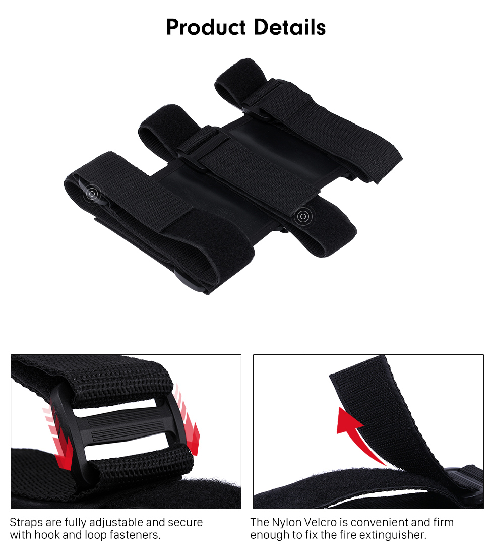 Product Details New Interior Roll Bar Fire Extinguisher Holder Safety Protection Kit for Jeep Wrangler Car Accessories