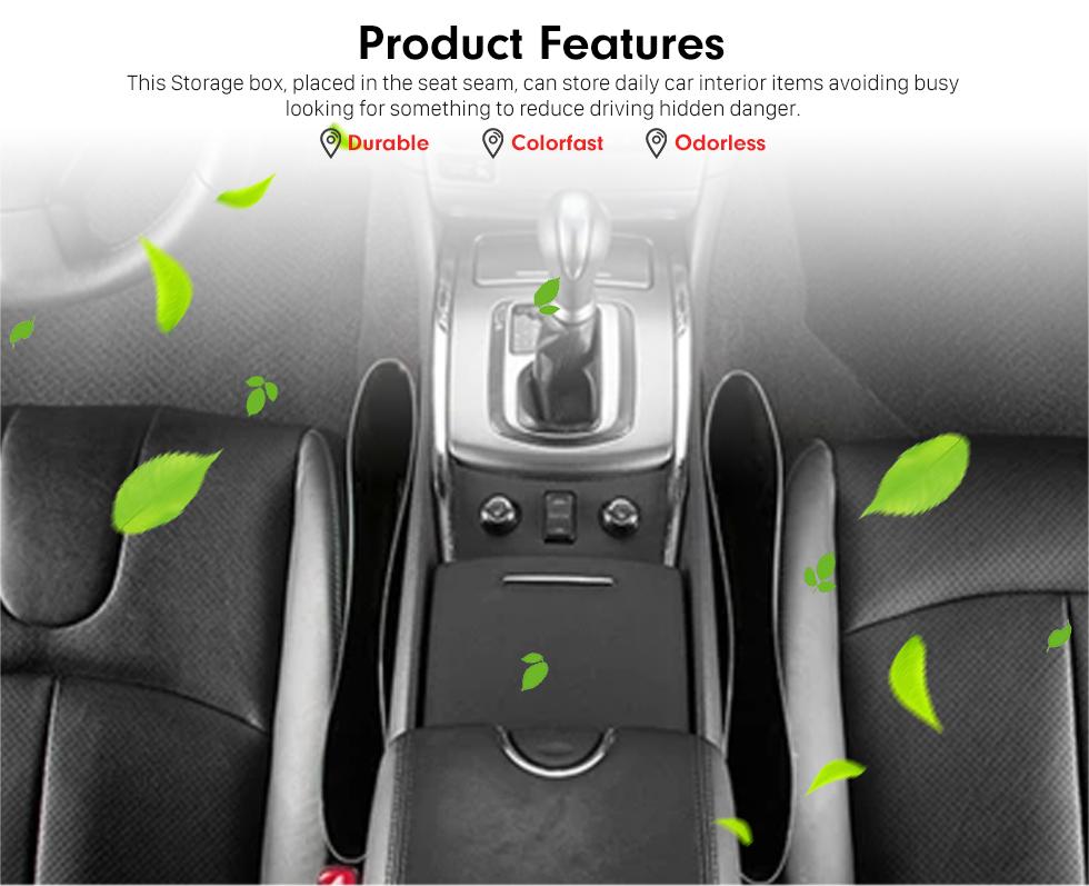 Product Features Acessórios Multifuncionais Caixa de Armazenamento de Carne Automóvel Inserir Contentor de Caixa Livre