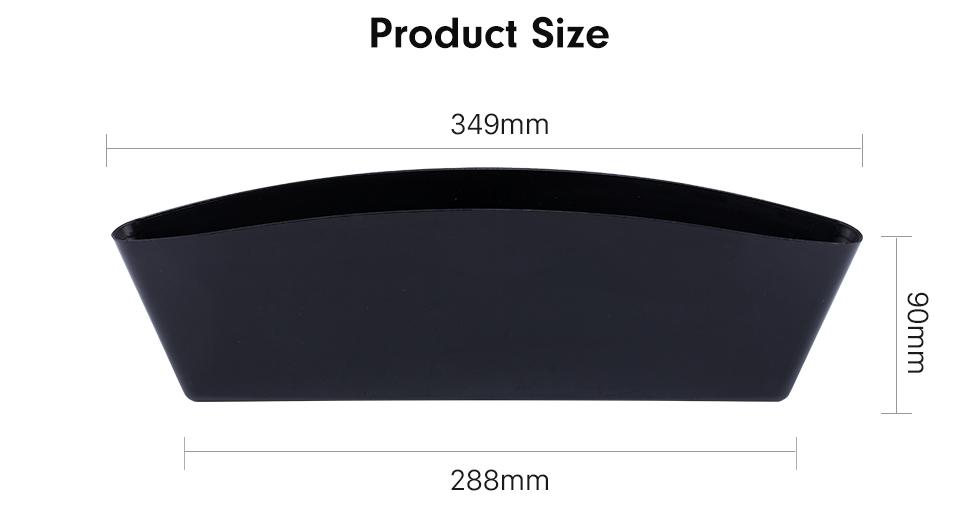 Product Size Acessórios Multifuncionais Caixa de Armazenamento de Carne Automóvel Inserir Contentor de Caixa Livre