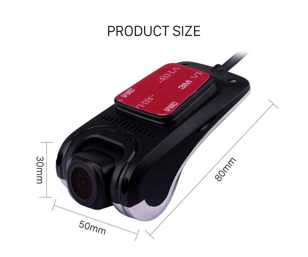 Seicane Ночное видение 170 градусов большой угол USB HD видеокамера Автоматическая циклическая запись