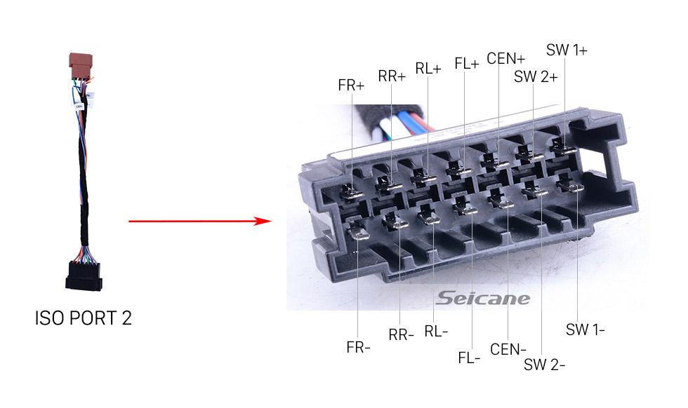 Seicane Longue antenne radio de faisceau de câbles de 6m pour le système de navigation GPS radio Mercedes-Benz
