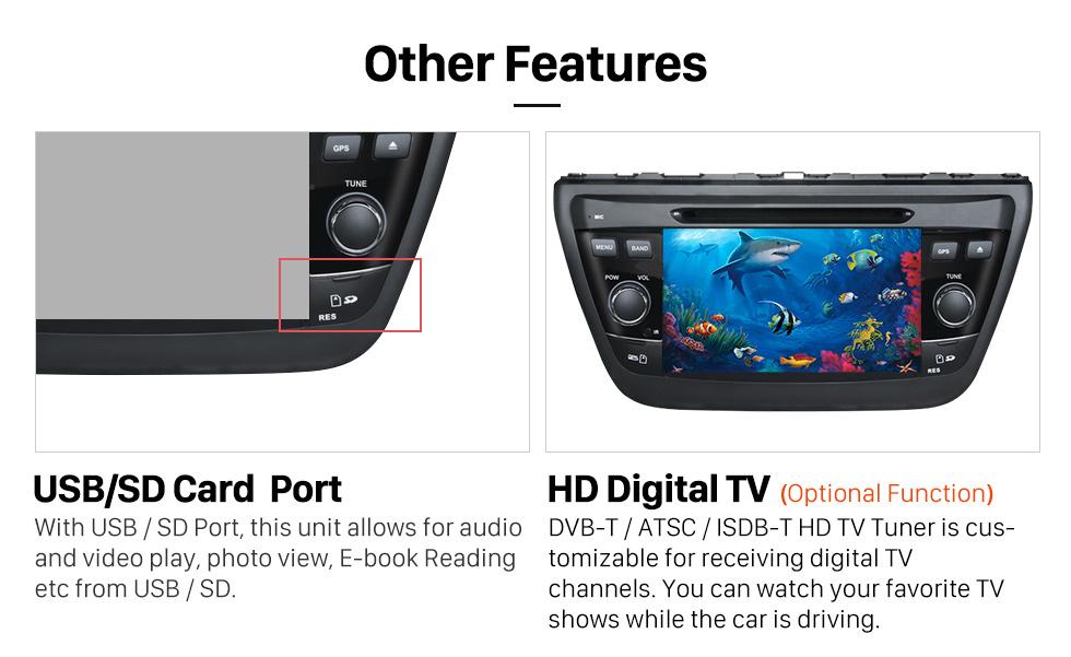 Android 7 1 Radio DVD player GPS navigation system Bluetooth