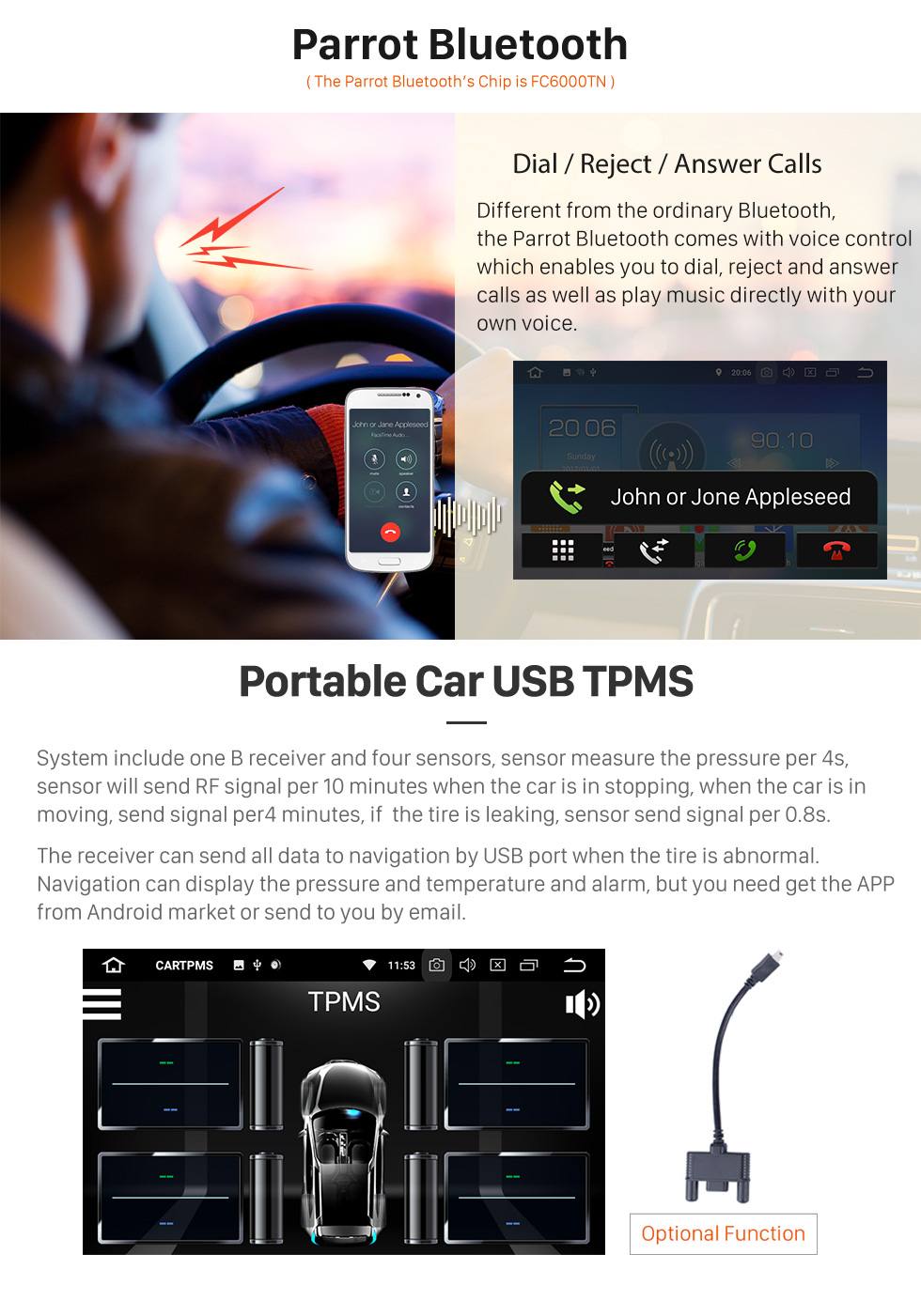 Seicane 10.1 Inch OEM Android 8.0 Radio GPS Navigation system For 2013-2017 Toyota RAV4 with Bluetooth Capacitive Touch Screen TPMS DVR OBD II Rear camera AUX 3G WiFi HD 1080P Video Headrest Monitor Control USB SD