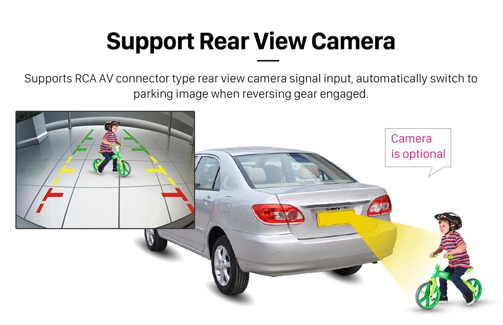 Seicane 8 polegadas 2014 KIA SOUL Android 8.0 GPS Rádio Bluetooth leitor de DVD HD Ecrã Tátil sistema de navegação com OBD2 DVR Retrovisor Câmera tv 1080P Vídeo Controle de volante 3G WIFI  USB