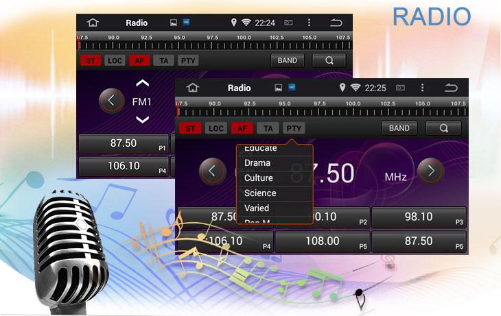 Seicane S167059 Quad-core Android 5.1.1 Radio GPS Audio System for 2011-2015 Hyundai veloster radio