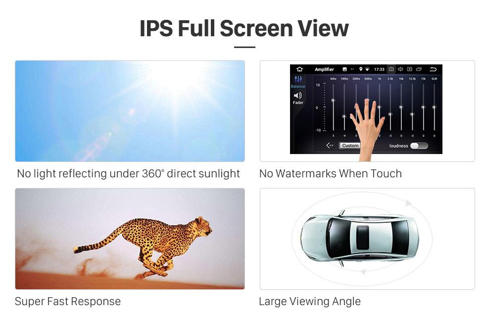 Seicane 8,1 polegadas Android 8.1 Touchscreen Rádio para 2009-2012 BMW 3 Série E90 E91 E92 E93 316i 2005-2010 BMW 5 E60 E61 E62 CCC Navegação GPS Cabeça unidade Bluetooth Música USB WIFI SWC
