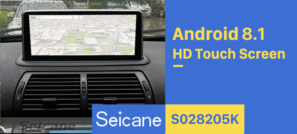Seicane 10.25 Inch Android 8.1 1998-2006 BMW E53 X5 Car Stereo Radio Head Unit GPS Navigation System Bluetooth Support USB WIFI Rearview Camera Steering Wheel Control