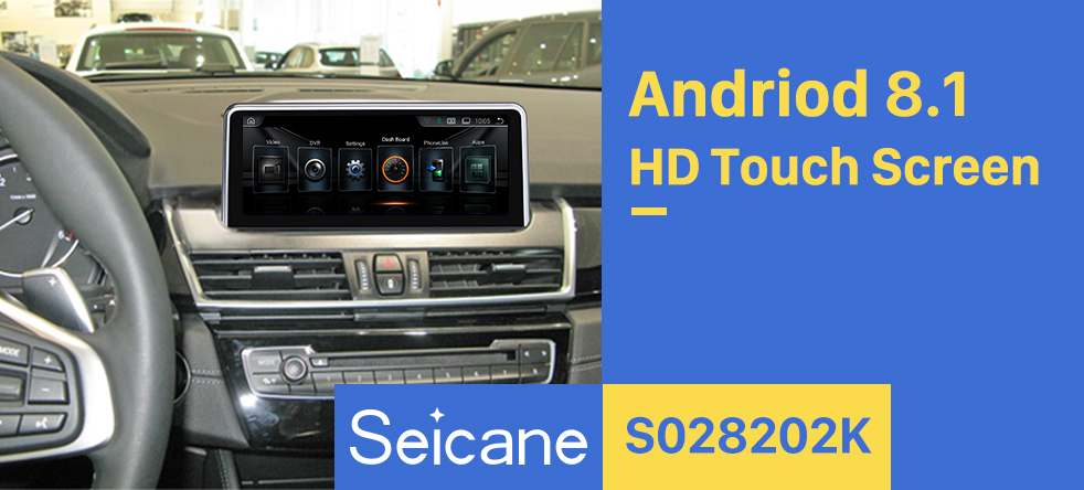 Seicane 8.8 Inch HD Touchscreen Android 8.1 2013-2016 BMW 2 Series F22/F45 MPV NBT Car Stereo Radio Head Unit GPS Navigation Bluetooth Phone MP3 Support Steering Wheel Control WIFI Backup Camera