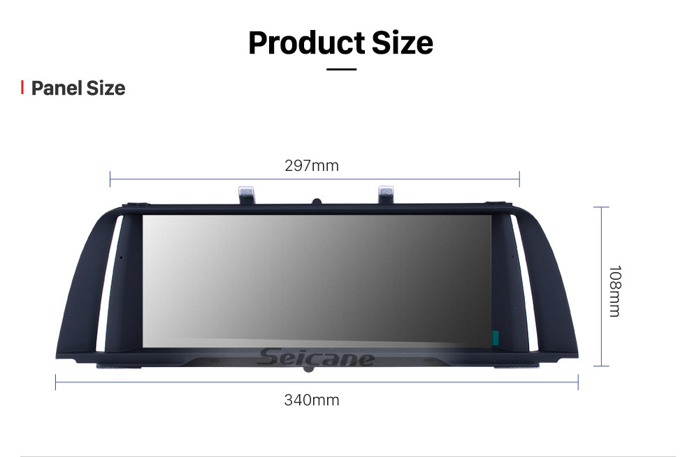 Seicane 10.25 Inch Android 9.0 2009-2012 BMW 7 Series F01 F02 CIC Left Hand Drive Car Stereo Radio Head Unit GPS Navigation System Bluetooth Support USB WIFI Rearview Camera Steering Wheel Control