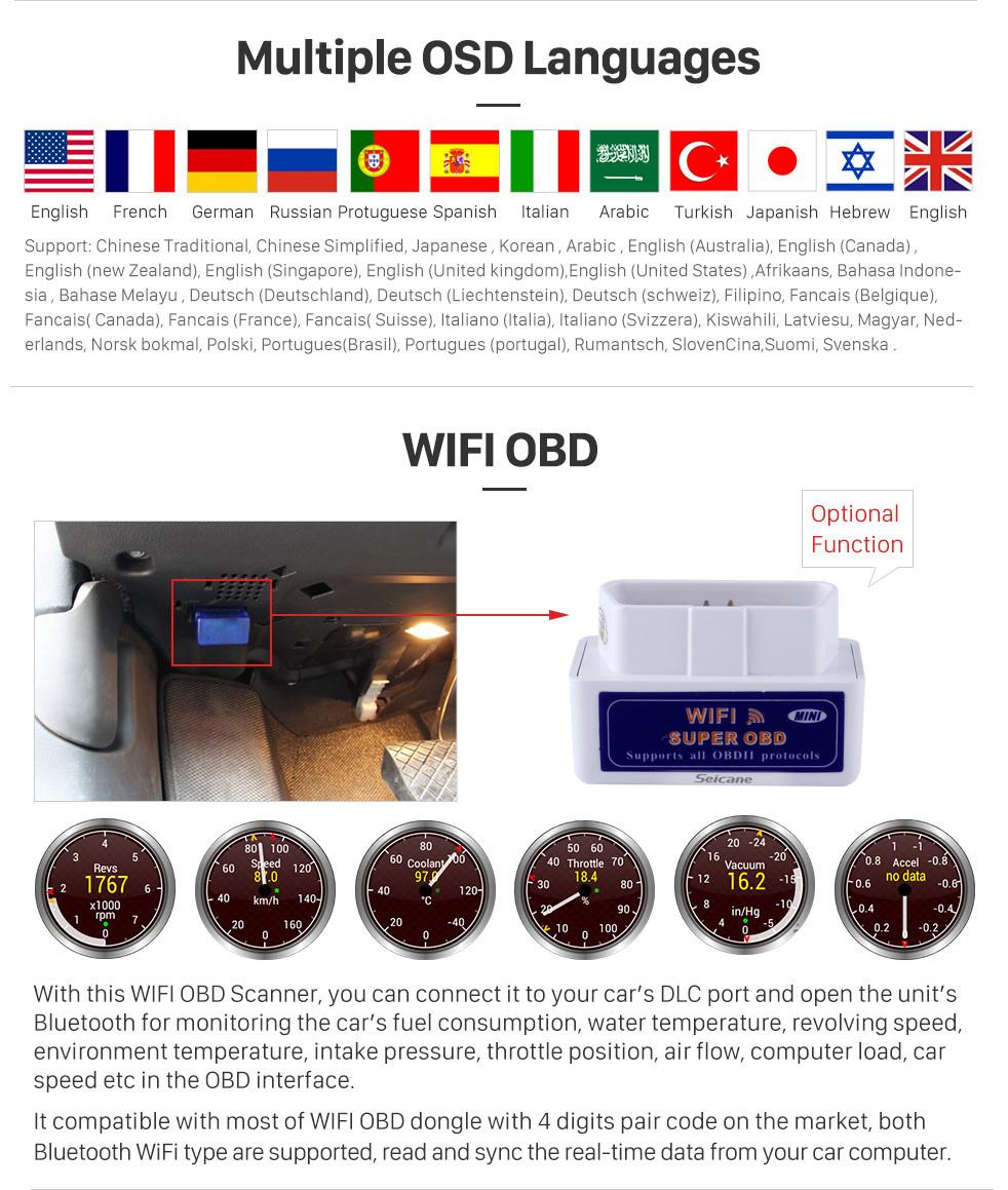 Seicane 10.25 Polegada HD Touchscreen Android 9.0 2009-2015 BMW X1 E84 Com monitor / CIC Reposição Rádio Cabeça Unidade de Carro Estéreo GPS Sistema de Navegação Bluetooth Suporte por Telefone Wi-Fi DVR Controle de Volante