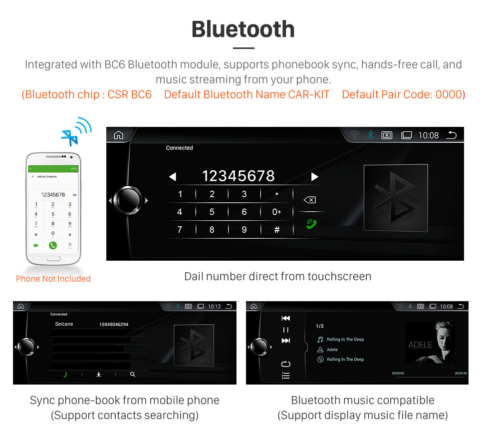 10 25 Inch HD Touchscreen Android 9 0 Head Unit For 2006