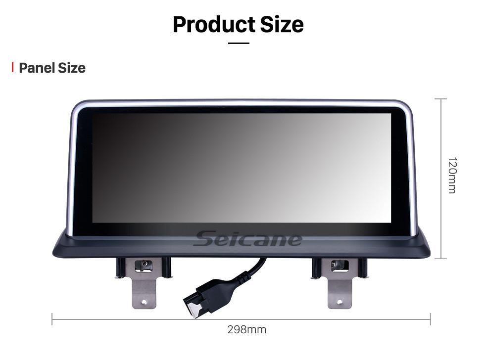 Seicane 10,2 polegadas HD Touchscreen Android 8.1 unidade de cabeça para 2006-2012 BMW E87 Car Rádio Estéreo Sistema de Navegação GPS Bluetooth Phone Suporte 1080P Vídeo OBDII DVR controle de volante WIFI
