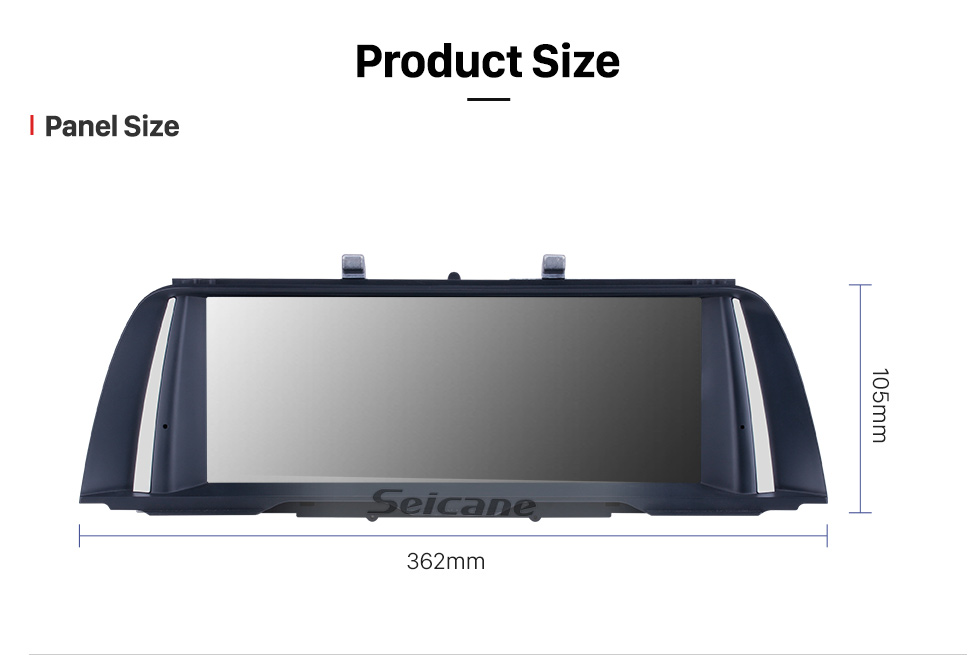 Seicane 10.25 Inch HD Touchscreen Android 9.0 2013 2014 2015 2016 BMW 5 Series F10/F11 NBT Aftermarket Radio Head Unit Car Stereo GPS Navigation System Bluetooth Phone Support WIFI DVR 1080P Video Steering Wheel Control